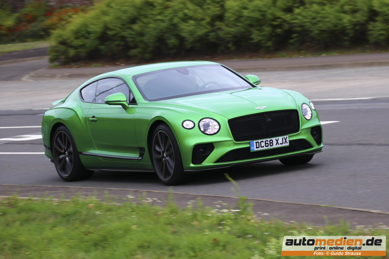 Bentley Continental GT in Apple Green